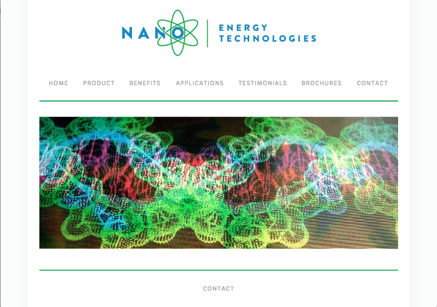 Energy Technology   www.nanoetechnologies.com
