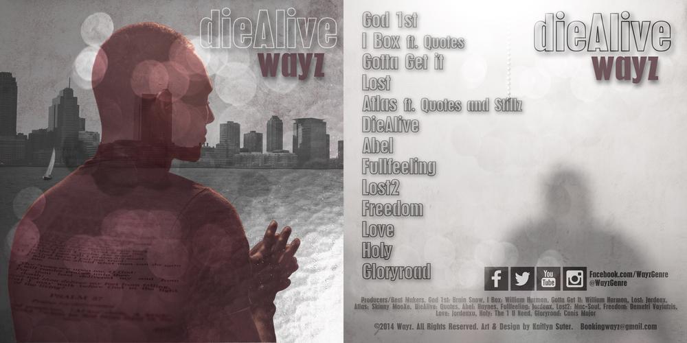 Album artfor Jovan (Wayz)Williamson's new album