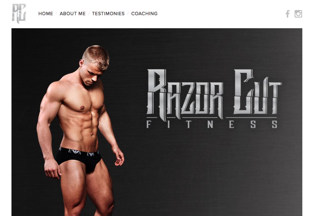 Personal Fitness Trainer   www.RazorCutFitness.com