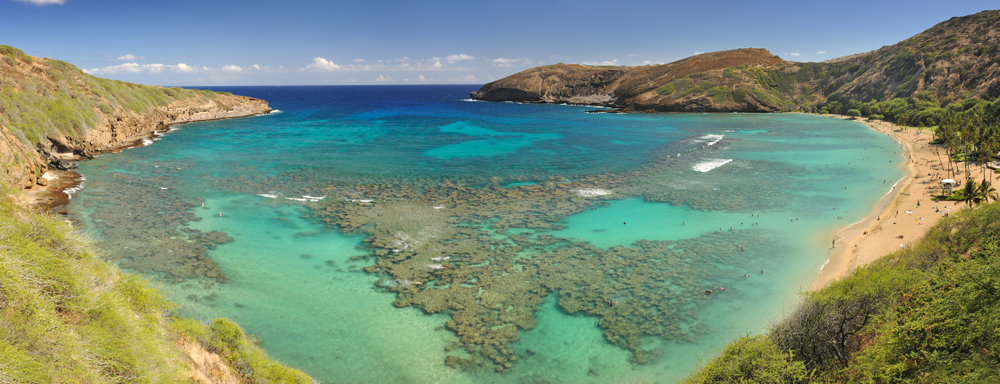 Hanauma Bay on the East End of Oahu