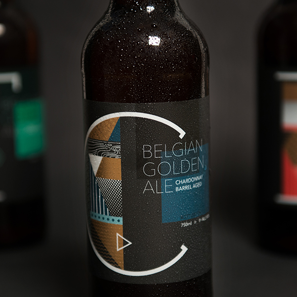Vault Brewing Artist Series Labels →