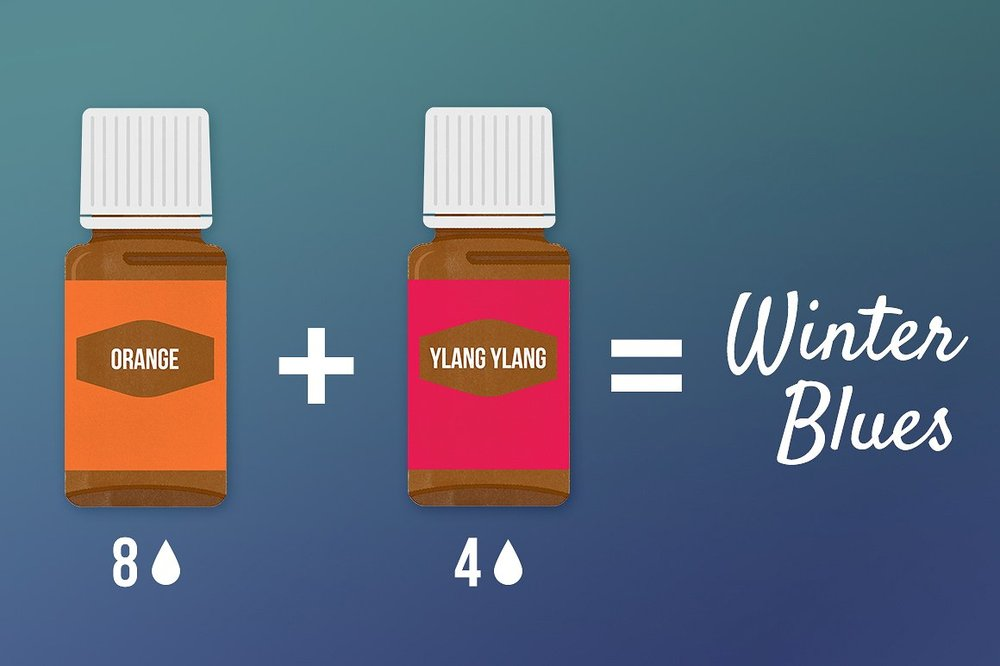Young Living Oil Illustrations