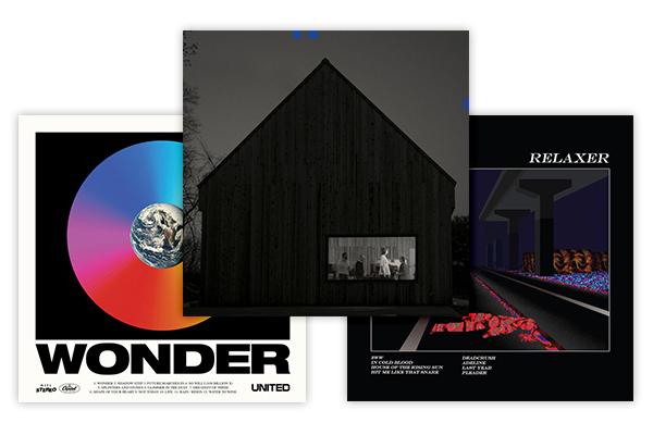 Albums - Sleep Well Beast, The NationalWonder, Hillsong UnitedRELAXER, Alt-J