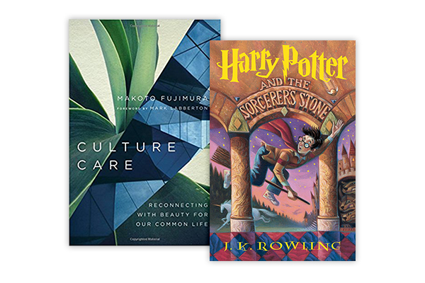 Books - Culture Care, Makoto FujimuraHarry Potter Series,  J.K. Rowling(I read this for the first time this year and it's really good!)