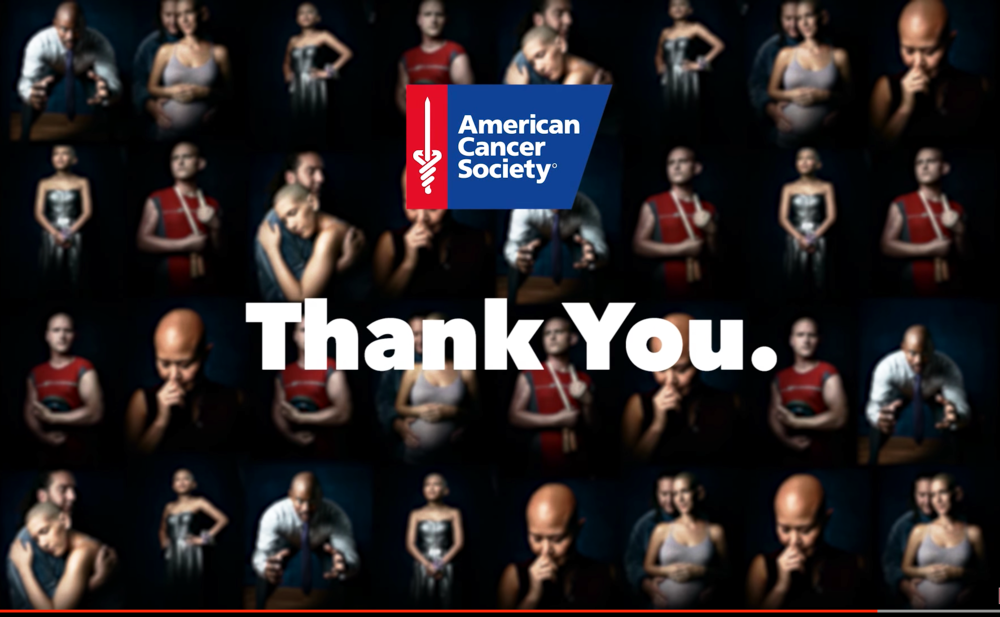 American Cancer Society: Thank You