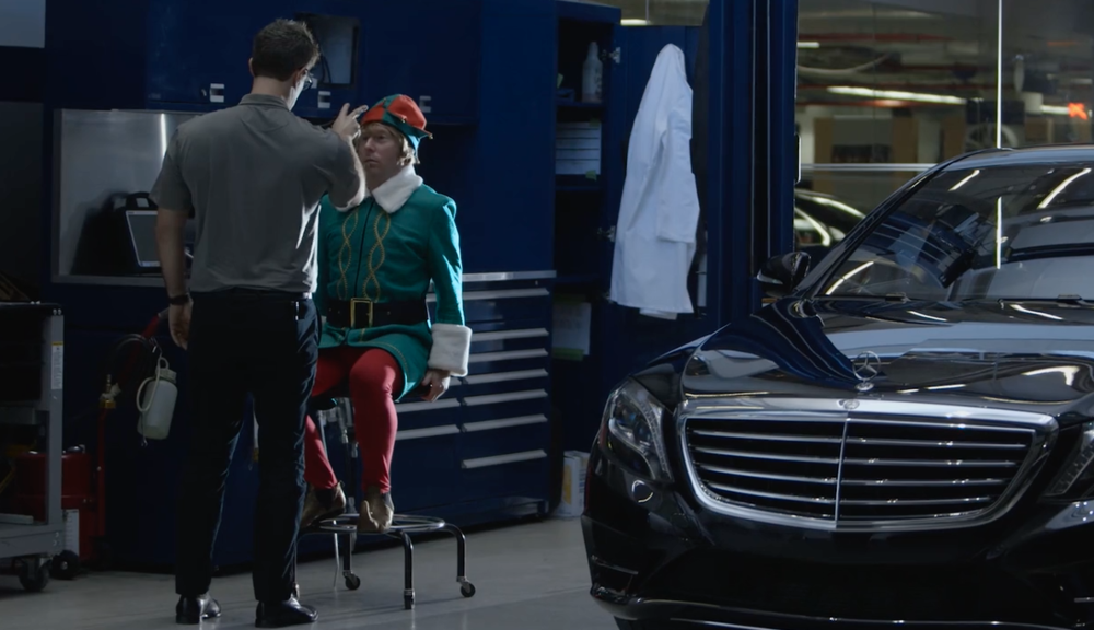 Mercedes Benz USA: Elf-Driving Car