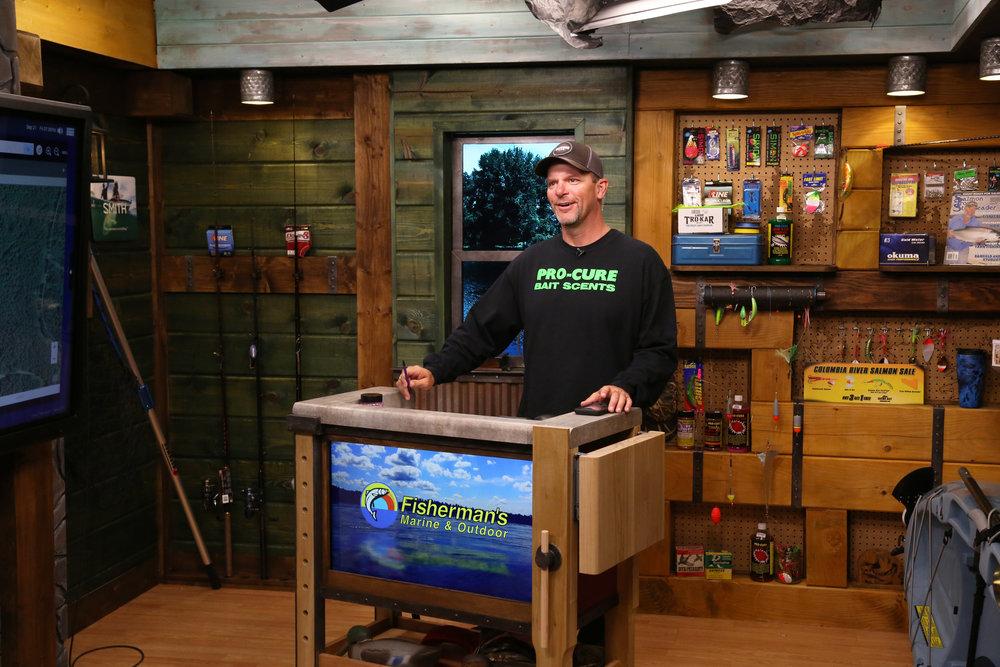 OUTDOOR GPS studio set - NBC Sports Northwest
