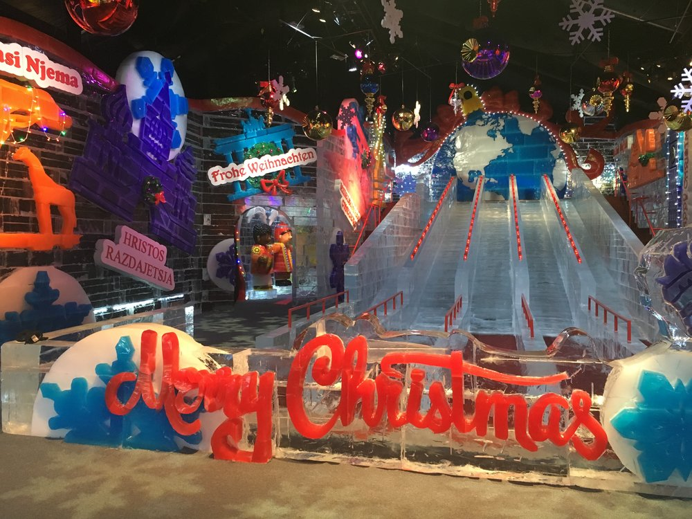 CHRISTMAS AROUND THE WORLD - Gaylord Hotels annual ICE! show