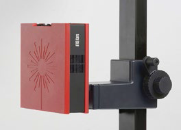 Probados en la industria, el escáner 3D ATOS Core con trípode, el procesamiento de imágenes computarizado y el software GOM Scan