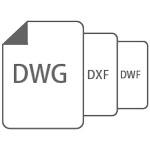 Perfecta compatibilidad con otros CAD   Compatiblilidad con formatos DWG, DXF, DWT, DGN, PDF, JPEG, PNG.