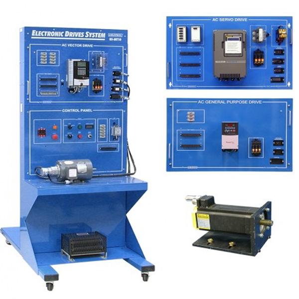 Sistema de aprendizaje de unidades electrónicas AC
