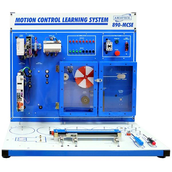 Sistema de aprendizaje de control de movimiento (Schneider 1 eje)