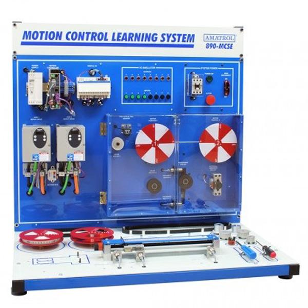 Sistema de aprendizaje de control de movimiento (Schneider 2 ejes)