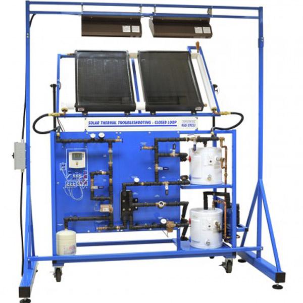 cod:TE39  Colector de energía solar de placa plana
