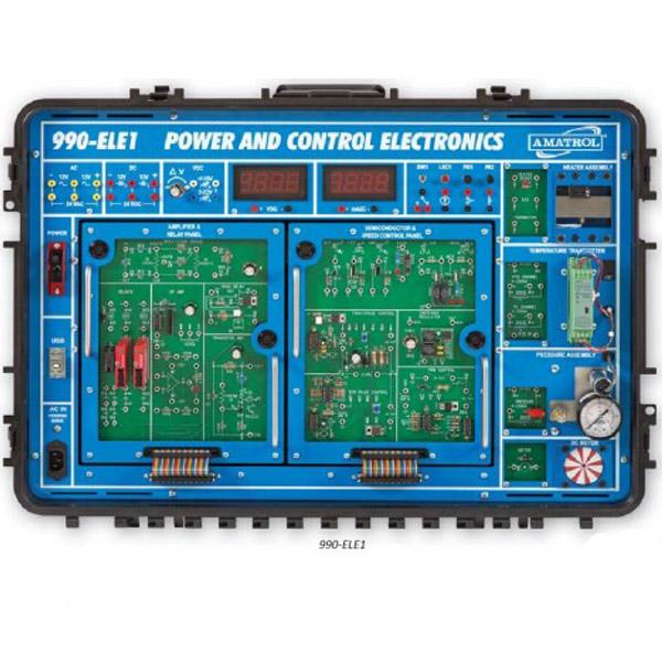 Sistema de aprendizaje de control electrónico y energía portable
