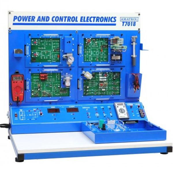 Sistema de aprendizaje de electrónica de potencia y control