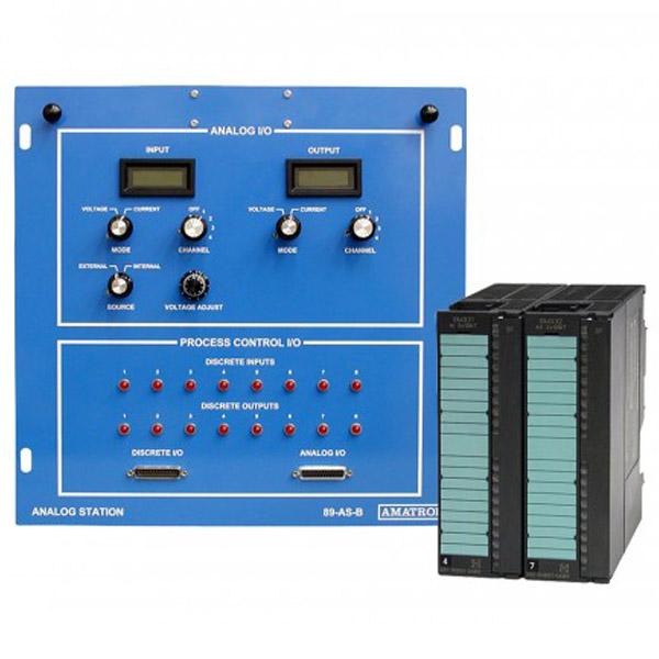 Sistema de aprendizaje analógico PLC - Siemens S7300
