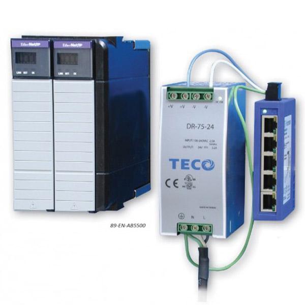 Sistema de aprendizaje PLC EtherNet para ControlLogix