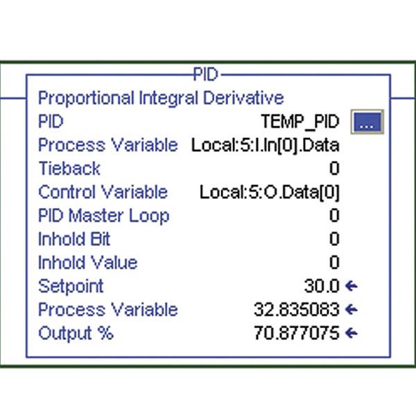 Sistema de aprendizaje de control de procesos ControlLogix