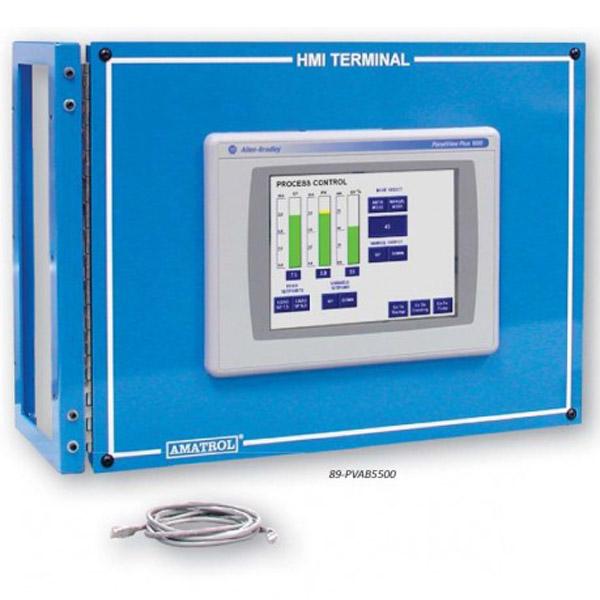 Sistema de aprendizaje PanelView Plus - Allen Bradley ControlLogix