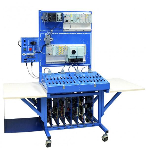Sistema de aprendizaje de diagnóstico de problemas PLC - Siemens ET200PRO - Seguridad
