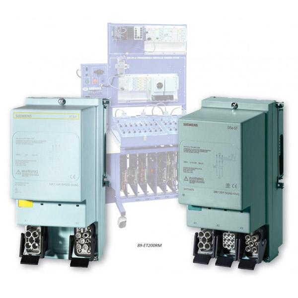 Sistema de Aprendizaje Safety I / O con arrancador inversor (Siemens ET200)