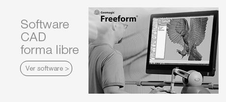 3D Systems Geomagic® Free Form, Sculp    Software para diseño de forma libre