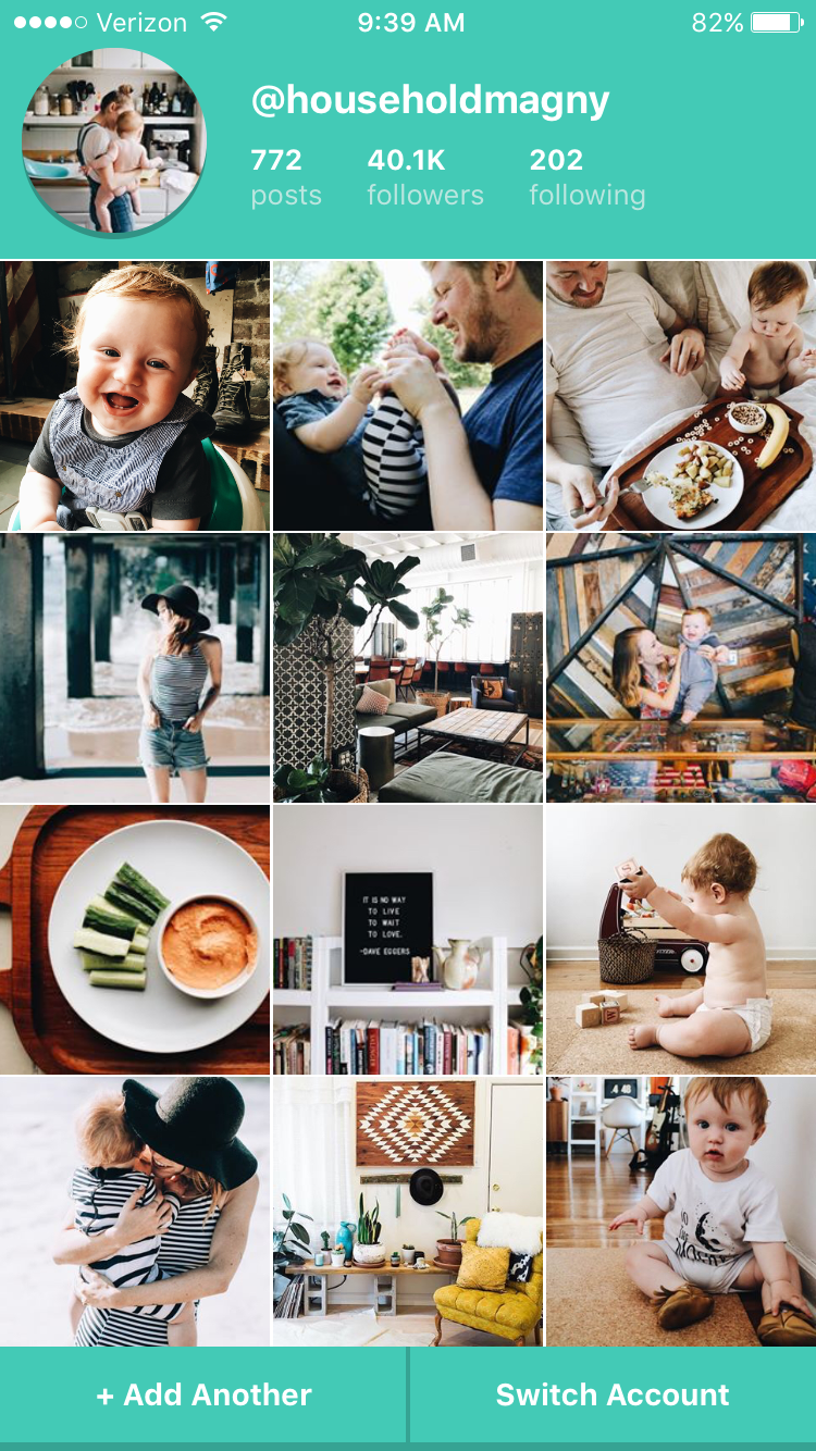 10. VSCO used to provide a set up like you see here so you could map out your feed a bit, but they recently updated and redesigned their interface.  Snug  lets you get a little preview before you upload to instagram.