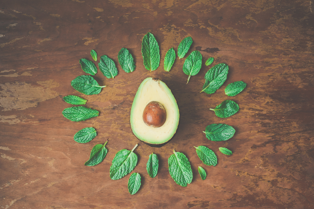 avocado and spinach