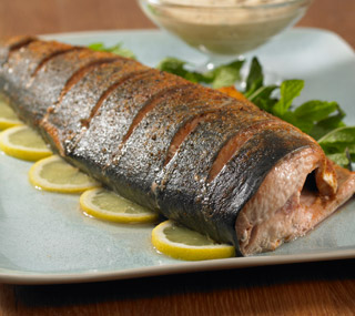 Salmon with Ginger Mint Sauce — Faithful Workouts | Christian ...