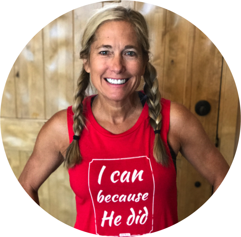 Michelle is the founder of Faithful Workouts and The Fresh Table. She began her fitness career in 1984 and still loves to help people break free from fitness frustration and move towards a life that's full of physical and spiritual health. Michelle is married to Jeff and they have three children PLUS two lovable dogs and an ornery cat.
