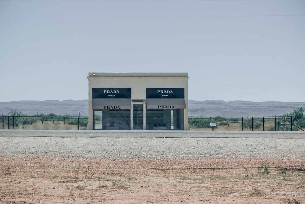 Prada Marfa located in Valentine, TX was such a beautiful scene (and worth the extra three hours of driving)