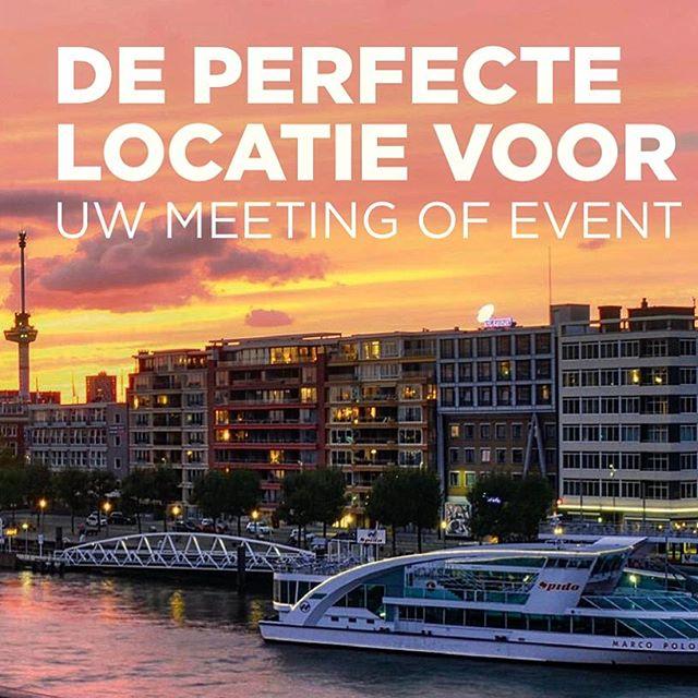 Natuurlijk is @spidorotterdam de perfecte locatie voor uw #event in #rotterdam #creativeagency for #advertisement