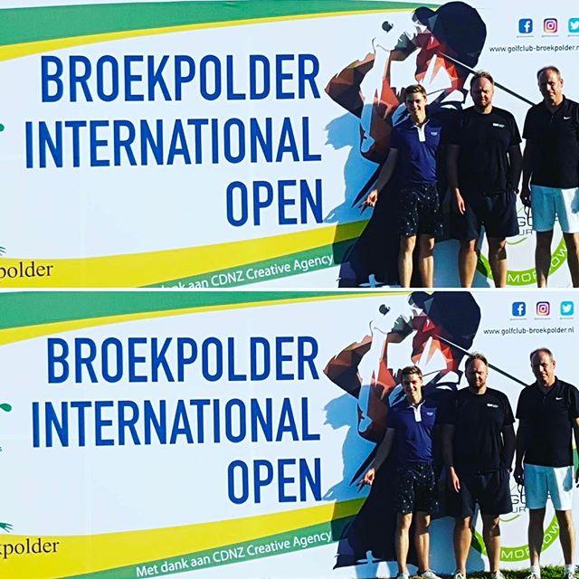 Broekpolder International Open 4 t/m 7 Juli #golfclubbroekpolder #golfprotour #signing by @cdnz.nl #golf #golfmarketing #golftournament #golftour