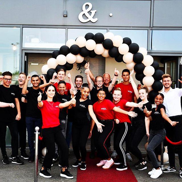 Wat een super leuk team @wok.and veel succes met jullie nieuwe #restaurant in #heerhugowaard #wok #horecaconcept #cdnz #interiordesign #horeca #creativeagency #team # noodles #eatwithyourheart