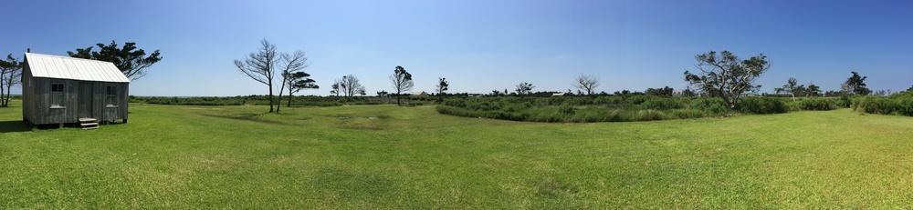 Abandoned settlement, Portsmouth Island, NC