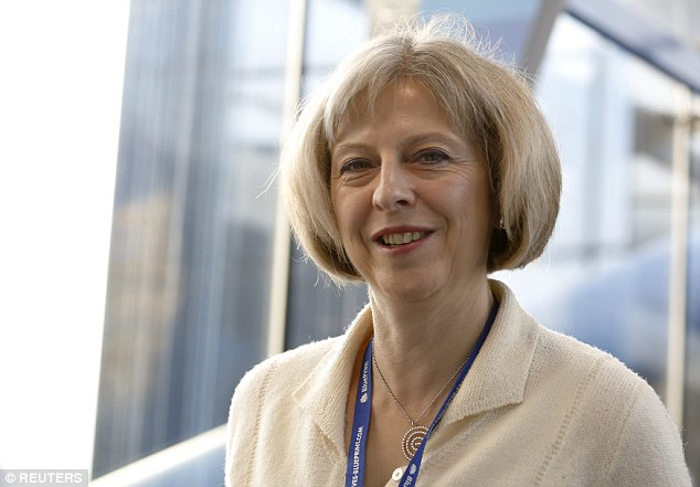 Mrs May said women should celebrate the 'different approach' they take in the professional world