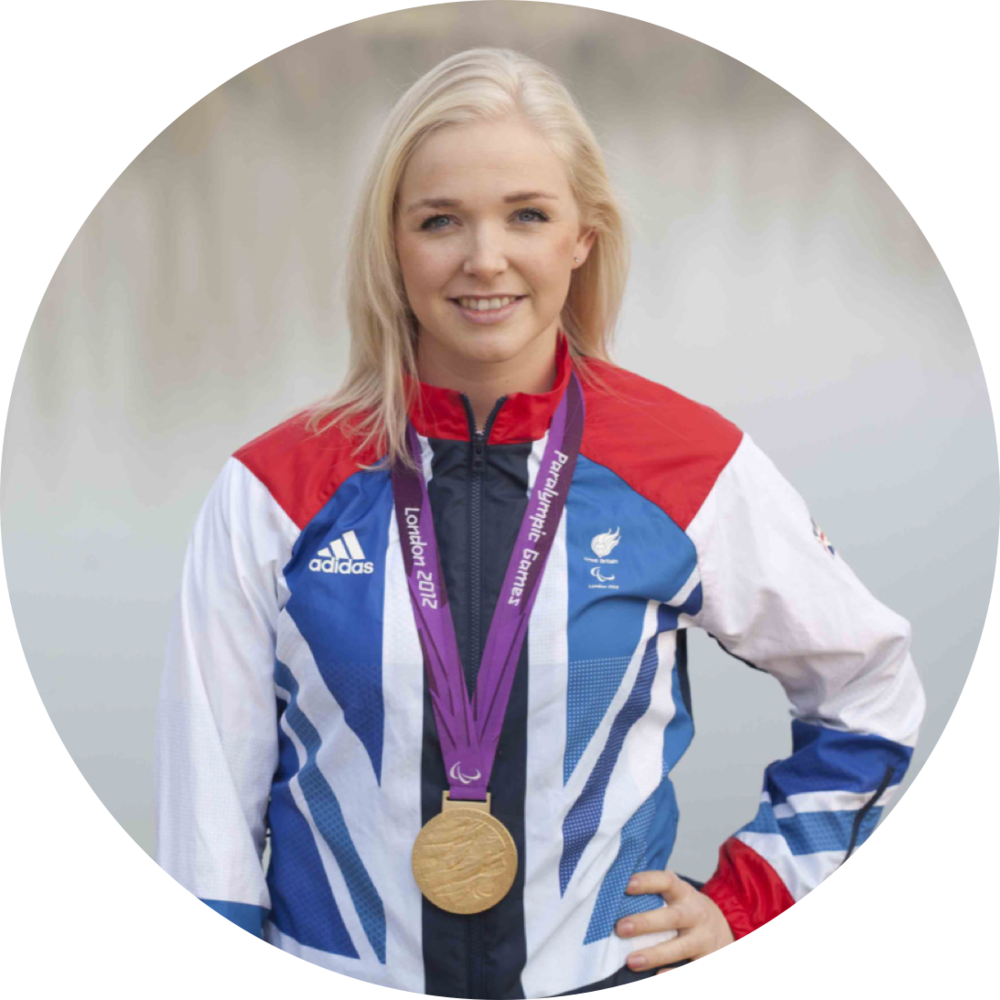 Pam Relph MBE Double Paralympic Rowing Gold Medallist