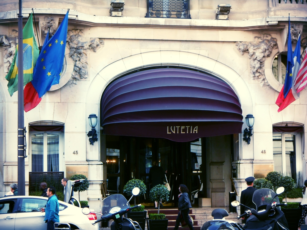 Hôtel LUTETIA, Left Bank, Paris