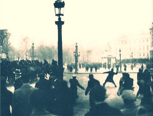 Place de la Concorde - Paris riot 1934