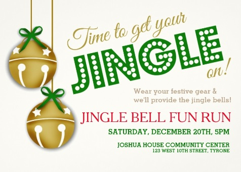 Grab your Christmas gear and join us for a fun run through Tyrone. There is no cost for this run, but we will be collecting can goods and nonperishable items for the local food bank.