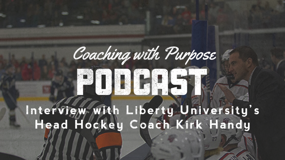 Liberty University's Head Hockey Coach Kirk Handy