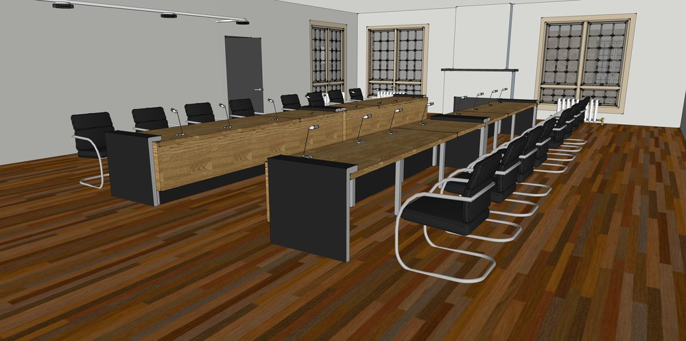 2nd floor conference room/studio/rec room