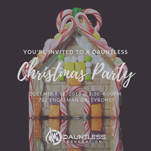 Join us THIS Sunday to celebrate Christmas with Dauntless!! Comment below or text Mizpah if you're coming!! Feel free to bring a friend 🎄🎁🌟