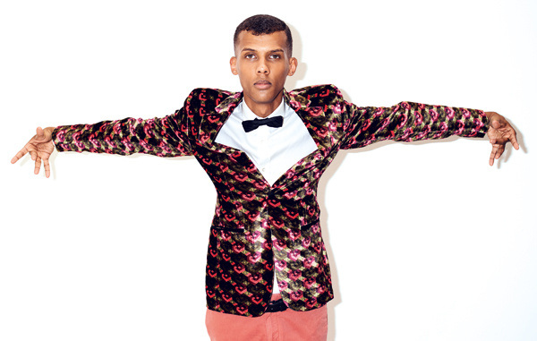 Stromae photographed for GQ France