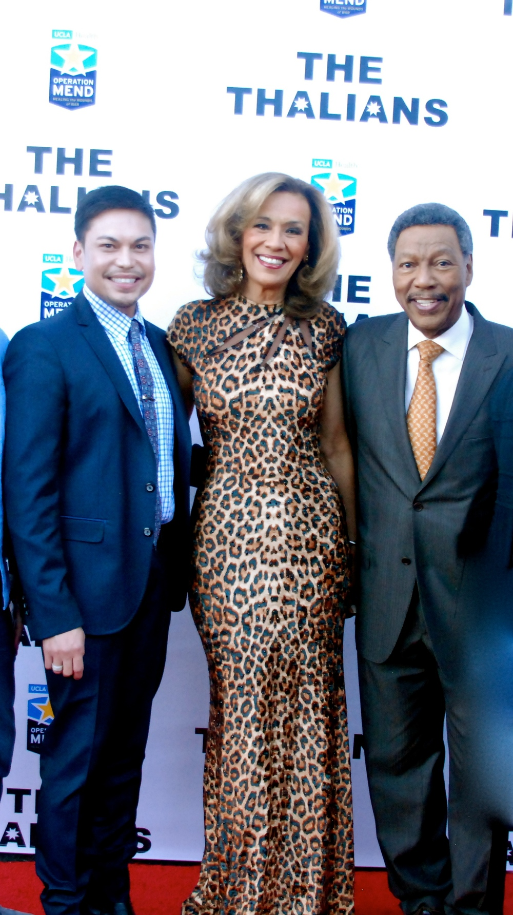 Marc with Marilyn McCoo and Billy Davis Jr.