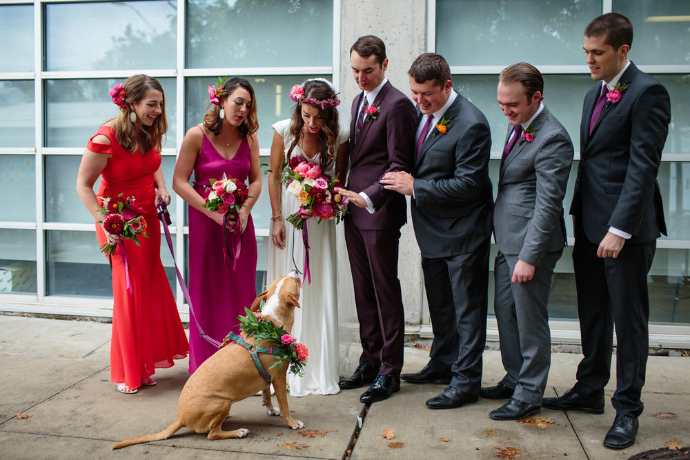Paige-Newton-Wedding_Photography-Wedding-Party-Puppy-Flower-Necklace.jpg