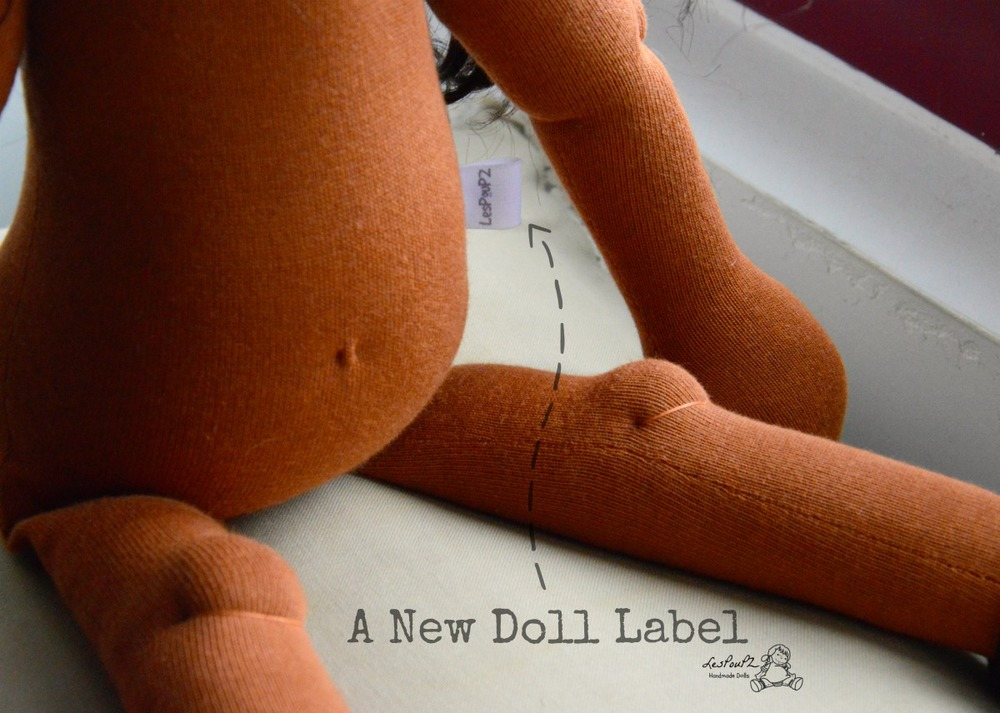 A New Doll Label