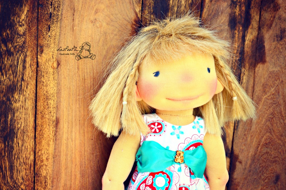Emma, flowered dress