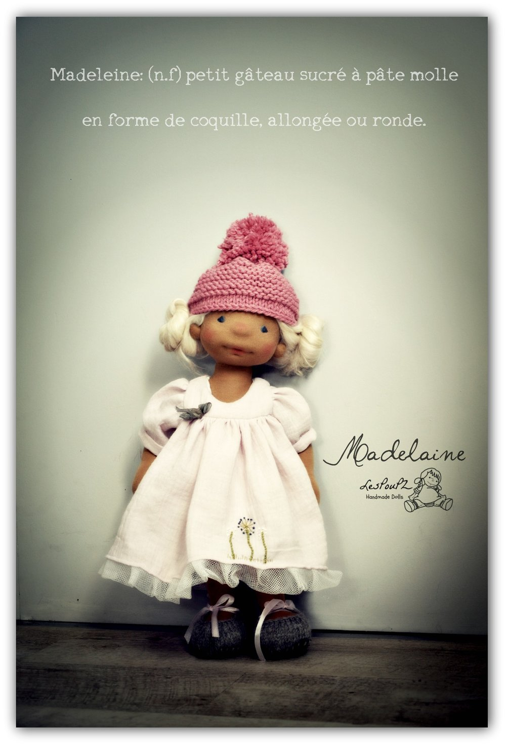 Madelaine will be happy to be part of your doll family